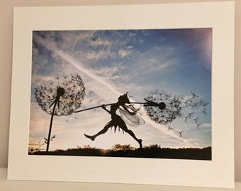 A5 Mounted Print of 'Whimsy's Pride'