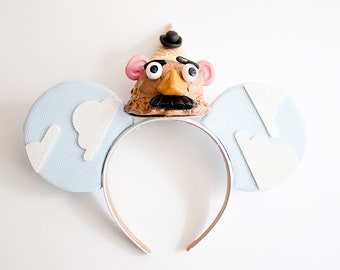 Mr Potato Head Mouse Ears / Mr Potato Head Toy Story  Mouse Ears / Mr Potato Head Headband / Toystory Mouse Ears / Ice Cream Ears