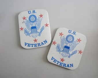 US Veteran's License tag magnet