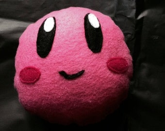 Kirby Face Plushie