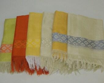Women's Ethiopian 100% Handwoven Lustrous Cotton Scarf