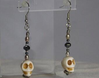Bonehead Earrings