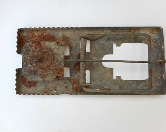 Antique Primitive Mouse Trap