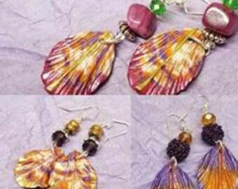 Fantasy Petal Earrings