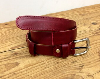 Sale!!! Burgundy Leather belt Womens Belt Leather Women's belt Deep red leather belt Belt woman leather Unique belt for women