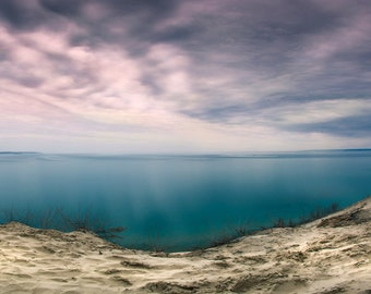 Sleeping Bear Dunes, Fine Art Photography, Michigan, Leelanau, Lake Michigan, Lookout View