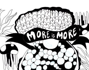 More is more PRINT
