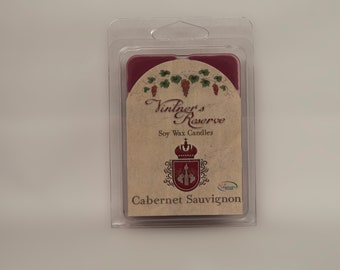 Cabernet Sauvignon Wine Scented Soy Wax Melts