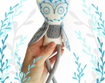 Owl Sewing Pattern. Owl Pattern Pdf. Woodland Animal.Owl Plushie.DIY Sewing Pattern.Needlecraft.DIY craft. Stuffed Owl tutorial and pattern