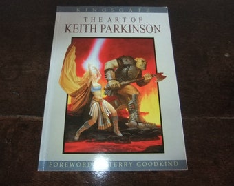 KINGSGATE The Art of Keith Parkinson 1st edition with limited Edition Dragon print signed and numbered