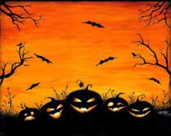 Halloween Perfume Oil or Mist 1 oz. Autumn Perfume, Fall Perfume, Pumpkin Perfume, Samhain Perfume, Hallow's Eve Perfume, Halloween Perfume