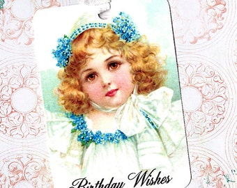 Gift Tags, Sweet Girl, Birthday Wishes, Tags, Happy Birthday, Victorian Style, Party