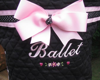 Ballet and Tap Tote Bag