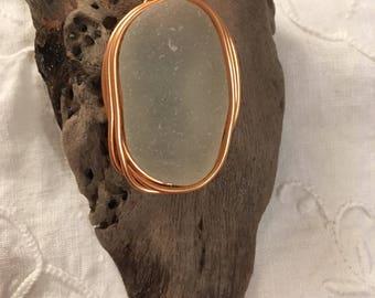Driftwood & Seaglass Keyring