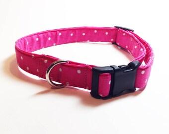 Dog collar, Pink dog collar, Dog collar girl, Girl dog collar, Pet collar, Pet accessories, Pet collars, dog neckware, collar for dog, pet