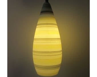 Louis Kalff for Philips very rare glass wall lamp, Dutch, 1950s