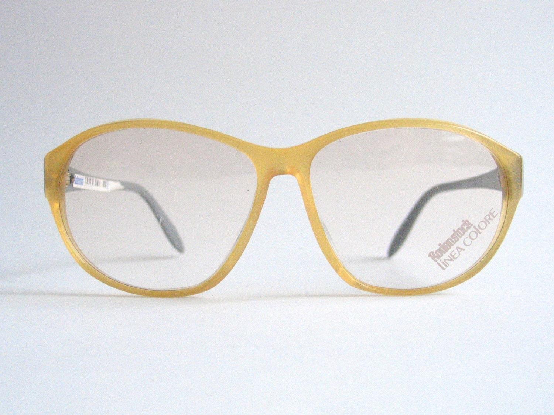 Rodenstock Vintage Kunststoffbrillen Rahmen. Made in Germany