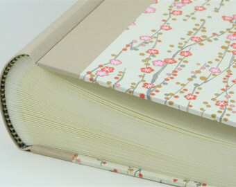 "Photo Album 30x30cm (12x12"") cover CHIYOGAMI Design ""Wedding Flowers"""
