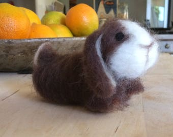 felted pet bunny rabbit