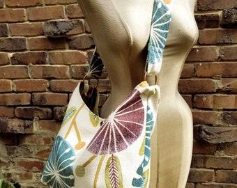Bohemian Floral Hobo Boho Style Slouchy Beach Bag