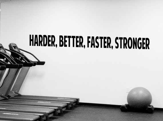 Good Workout Motivation Quote Wall Decal Fitness Gym Vinyl Stickers