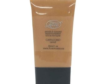 Cappuccino Liquid Foundation: Deep (Olive)