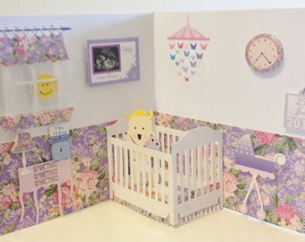 3D Welcome Baby Card