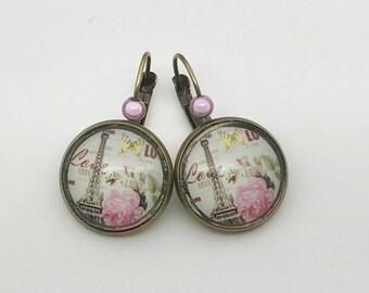 Love Paris earrings