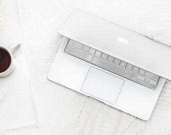 Brushed Silver Chrome Keyboard Key . Keycal . Macbook Pro 13 Case . Macbook Air Case . Macbook Decal . Microsoft Surface - Platinum Edition