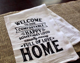 Dish Cloth-Welcome