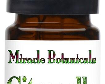 Miracle Botanicals Citronella Essential Oil - 100% Pure Cymbopogon Nardus- Therapeutic Grade...Free US Shipping