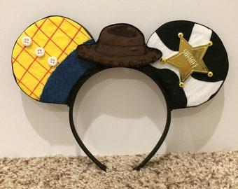 Woody Minnie Mouse Ears Headband
