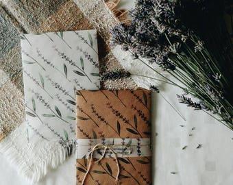 Set of Two Lavender Envelopes