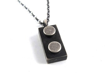 1X2 Building Block Pendant
