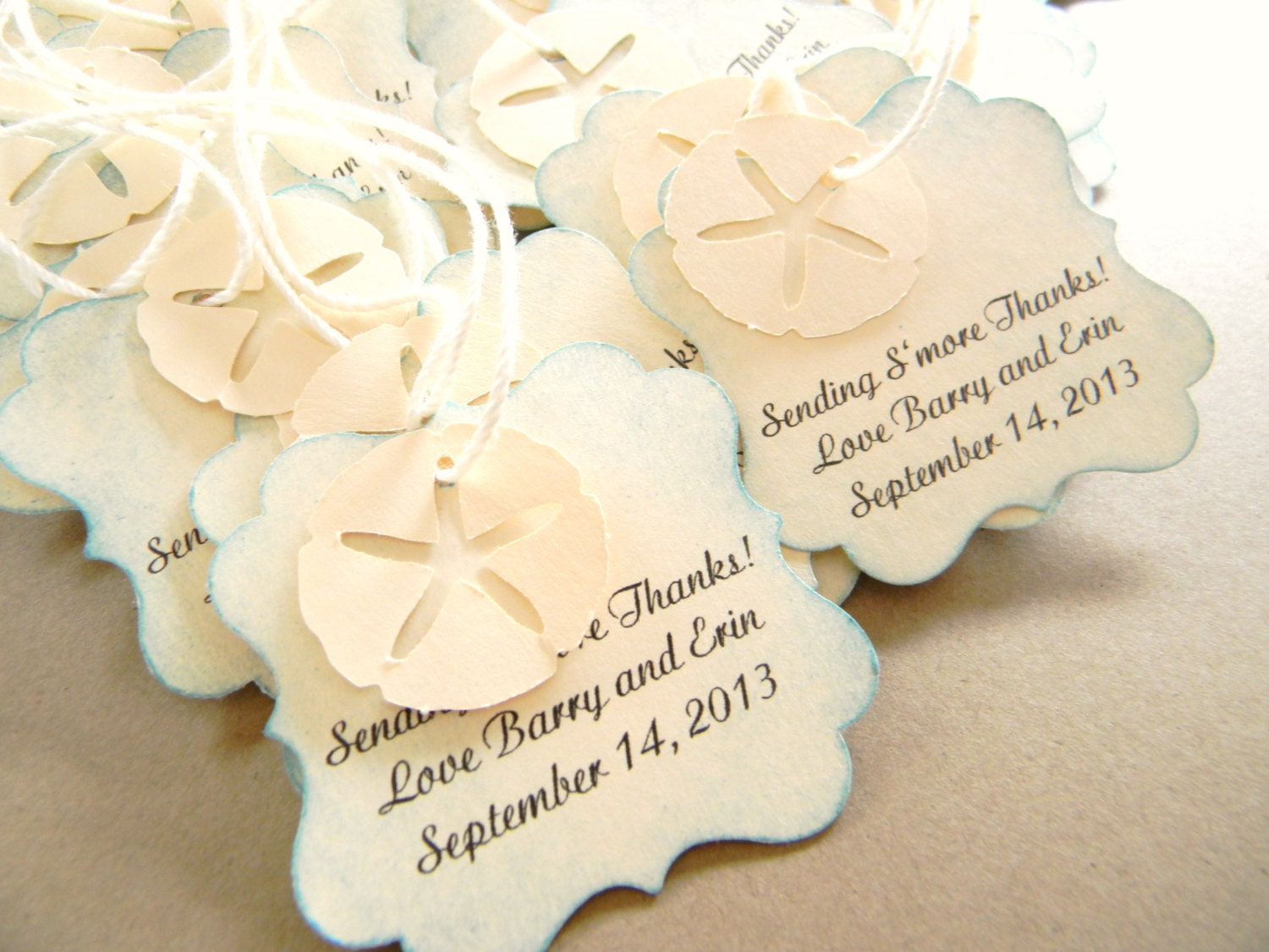 sand dollar wedding favors - Wedding Decor Ideas