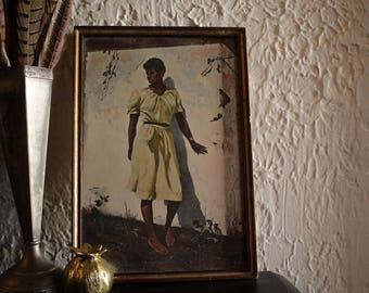 """Framed Andrew Wyeth Print - """"Afternoon"""""""