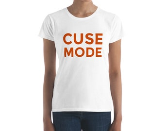 Cuse Mode T-Shirt | Syracuse Women's short sleeve t-shirt