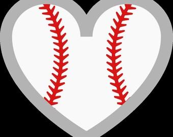 Baseball Heart Vinyl