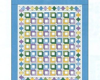 Little Boxes Queen-Size Quilt Pattern