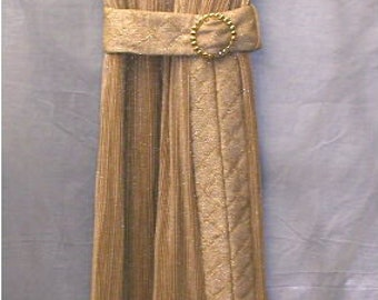 Vintage 60's gold lame evening gown