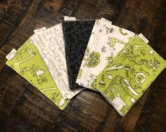 Safari Burp Cloth Set
