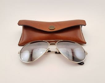Pattern: Leather glasses case