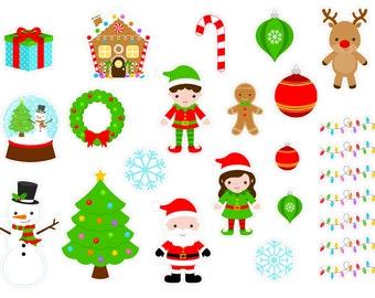 Christmas Cuties (planner stickers)