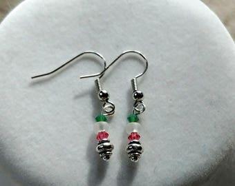 Silver Serenity Earrings