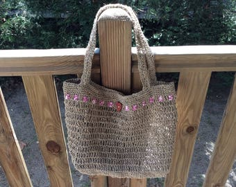 Lightweight very durable and eco-friendly market bag
