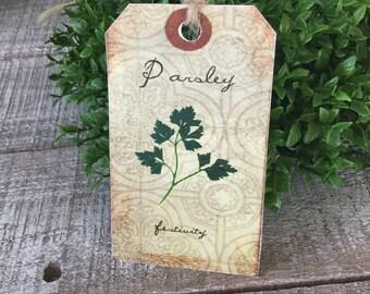 Parsley Hang Tags