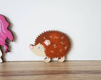 Fairy door Hedgehog - fairy door accessory - fairy door extra - pretend play elf door pixie miniature fairy house -doll house -
