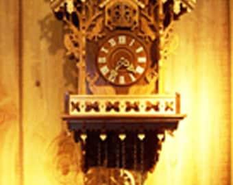 Woodland Cuckoo Clock