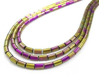 5*3mm Hematite Cylinder Beads, Hematite Beads, Hematite Jewelry