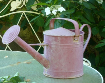 GARDENER'S WATERING CAN Greeting Card